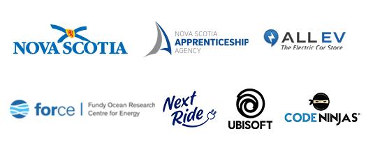 Sponsor logos for the Skilled Futures Program
